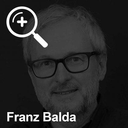 Franz Balda - ein Kollege für Unabhängigkeit
