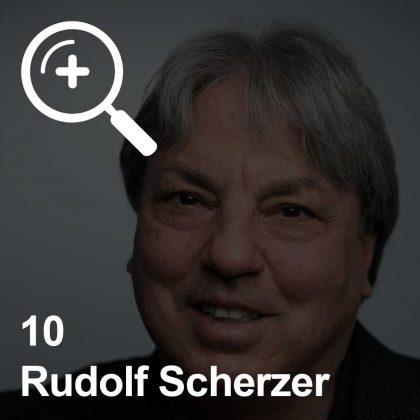 Rudolf Scherzer - ein Kollege für Unabhängigkeit