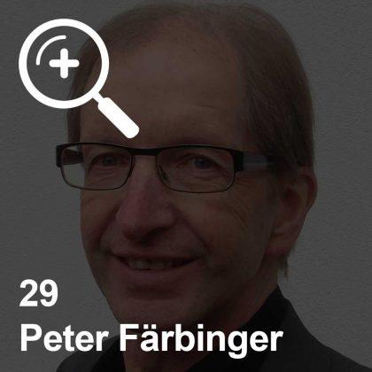 Peter Färbinger - ein Kollege für Unabhängigkeit