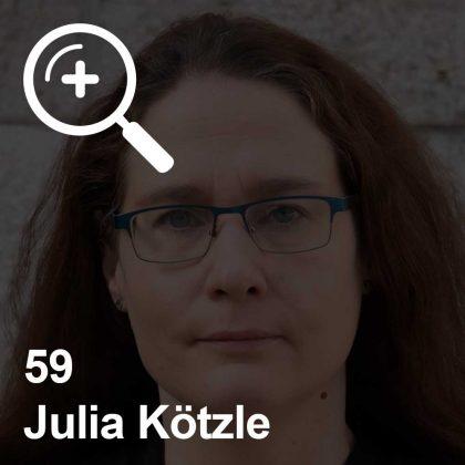 Julia Kötzle - eine Kollegin für Unabhängigkeit