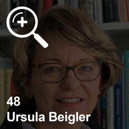 Ursula Beigler - eine Kollegin für Unabhängigkeit